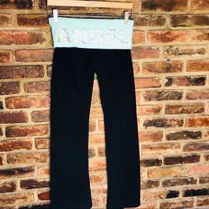 Victoria's Secret bootcut yoga pants small short.